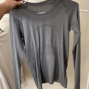 Lululemon grey long sleeve